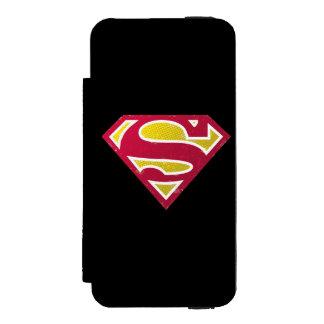 Superman S-Shield | Distressed Dots Logo Incipio Watson™ iPhone 5 Wallet Case