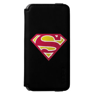 Superman S-Shield | Distressed Dots Logo Incipio Watson™ iPhone 6 Wallet Case
