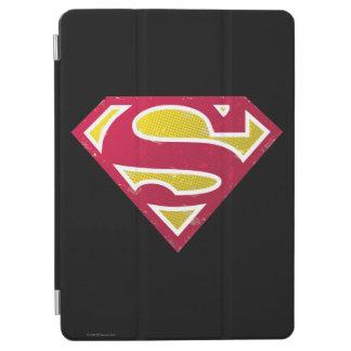 Superman S-Shield | Distressed Dots Logo iPad Air Cover