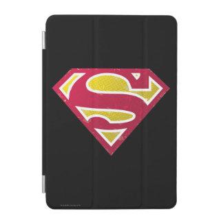 Superman S-Shield | Distressed Dots Logo iPad Mini Cover
