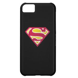 Superman S-Shield | Distressed Dots Logo iPhone 5C Case