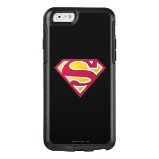 Superman S-Shield | Distressed Dots Logo OtterBox iPhone 6/6s Case