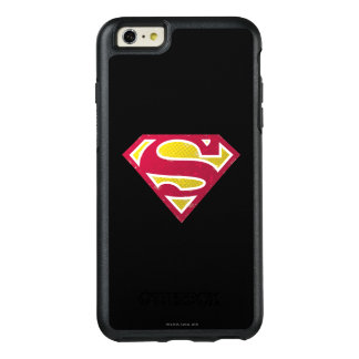 Superman S-Shield | Distressed Dots Logo OtterBox iPhone 6/6s Plus Case