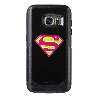 Superman S-Shield | Distressed Dots Logo OtterBox Samsung Galaxy S7 Case