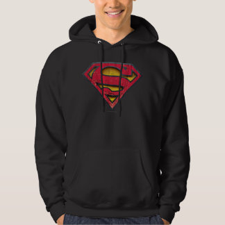 Superman S-Shield | Distressed Logo Hoodie