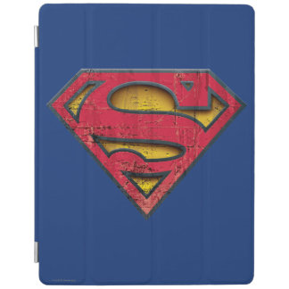 Superman S-Shield | Distressed Logo iPad Cover
