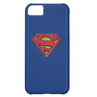 Superman S-Shield | Distressed Logo iPhone 5C Case