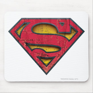 Superman S-Shield | Distressed Logo Mouse Pad