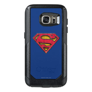 Superman S-Shield | Distressed Logo OtterBox Samsung Galaxy S7 Case