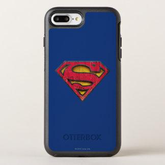 Superman S-Shield | Distressed Logo OtterBox Symmetry iPhone 7 Plus Case