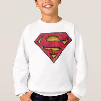 Superman S-Shield | Distressed Logo Sweatshirt