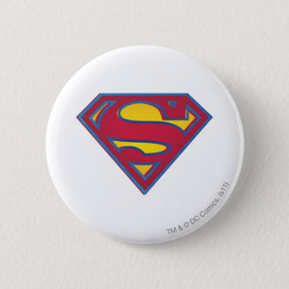 Superman S-Shield | Dot Logo 6 Cm Round Badge