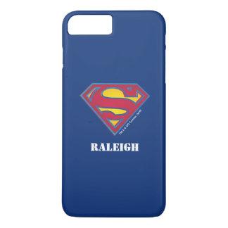 Superman S-Shield | Dot Logo | Add Your Name iPhone 8 Plus/7 Plus Case