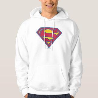Superman S-Shield   Dot Logo Hoodie