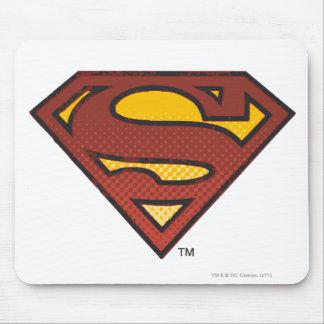 Superman S-Shield | Faded Dots Logo Mouse Mat