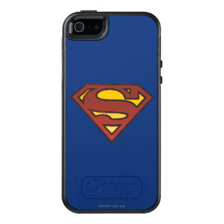 Superman S-Shield | Faded Dots Logo OtterBox iPhone 5/5s/SE Case