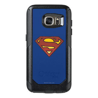 Superman S-Shield | Faded Dots Logo OtterBox Samsung Galaxy S7 Case