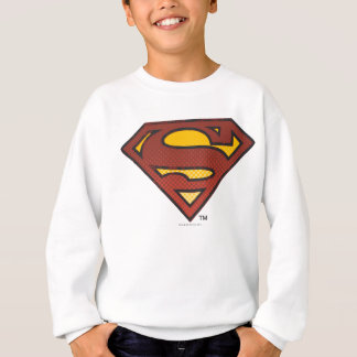 Superman S-Shield | Faded Dots Logo Sweatshirt