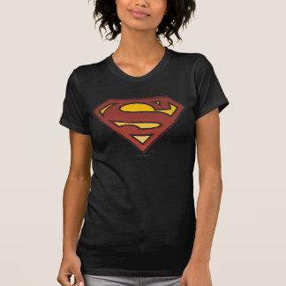 Superman S-Shield | Faded Dots Logo T Shirt