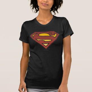 Superman S-Shield | Faded Dots Logo T-Shirt