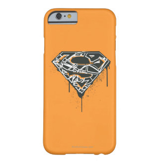 Superman S-Shield   Fragmented Splatter Logo Barely There iPhone 6 Case