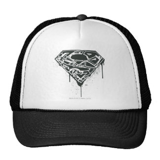 Superman S-Shield | Fragmented Splatter Logo Cap