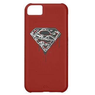 Superman S-Shield | Fragmented Splatter Logo iPhone 5C Case