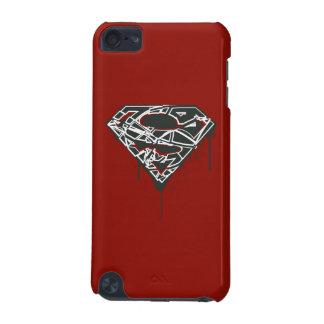 Superman S-Shield | Fragmented Splatter Logo iPod Touch 5G Case