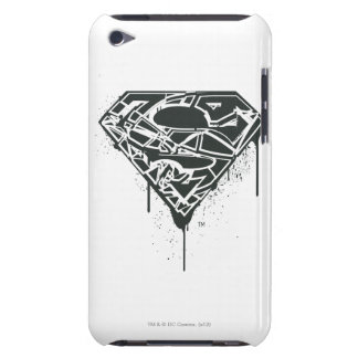 Superman S-Shield | Fragmented Splatter Logo iPod Touch Case