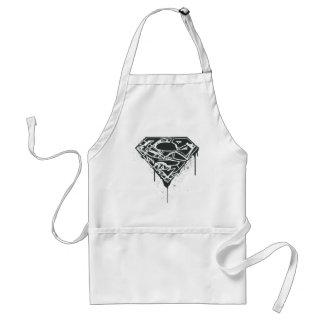 Superman S-Shield | Fragmented Splatter Logo Standard Apron