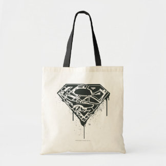 Superman S-Shield | Fragmented Splatter Logo Tote Bag