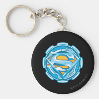 Superman S-Shield | Gear Logo Key Ring