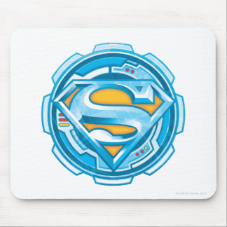 Superman S-Shield   Gear Logo Mouse Mat