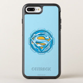 Superman S-Shield | Gear Logo OtterBox Symmetry iPhone 8 Plus/7 Plus Case