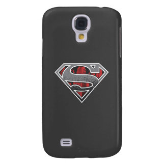 Superman S-Shield | Grey and Red City Logo Galaxy S4 Case