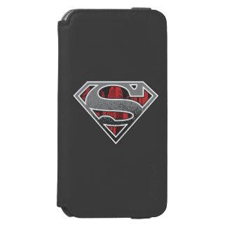 Superman S-Shield   Grey and Red City Logo Incipio Watson™ iPhone 6 Wallet Case