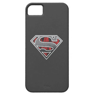 Superman S-Shield | Grey and Red City Logo iPhone 5 Cover
