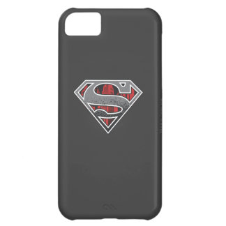Superman S-Shield | Grey and Red City Logo iPhone 5C Case