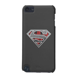 Superman S-Shield | Grey and Red City Logo iPod Touch 5G Covers