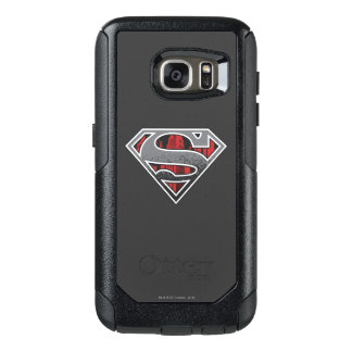 Superman S-Shield | Grey and Red City Logo OtterBox Samsung Galaxy S7 Case