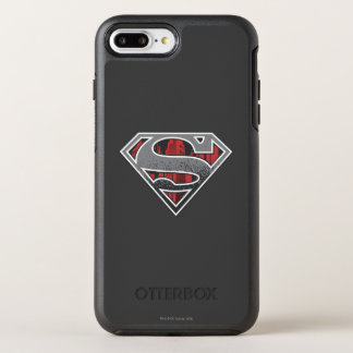 Superman S-Shield | Grey and Red City Logo OtterBox Symmetry iPhone 8 Plus/7 Plus Case