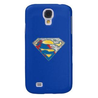Superman S-Shield | Grey Yellow Red Black Mix Logo Galaxy S4 Case