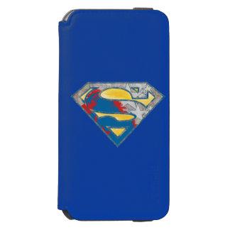 Superman S-Shield | Grey Yellow Red Black Mix Logo Incipio Watson™ iPhone 6 Wallet Case