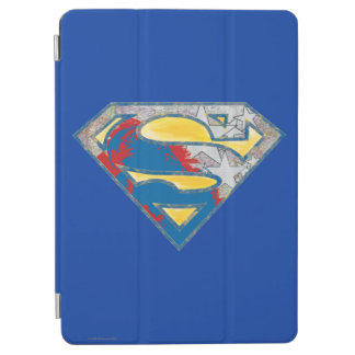 Superman S-Shield | Grey Yellow Red Black Mix Logo iPad Air Cover