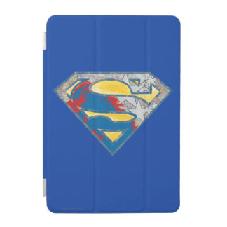 Superman S-Shield | Grey Yellow Red Black Mix Logo iPad Mini Cover