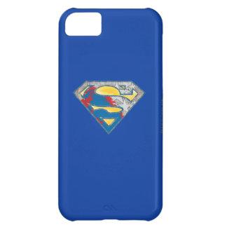 Superman S-Shield | Grey Yellow Red Black Mix Logo iPhone 5C Case