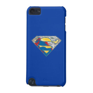 Superman S-Shield | Grey Yellow Red Black Mix Logo iPod Touch (5th Generation) Cover