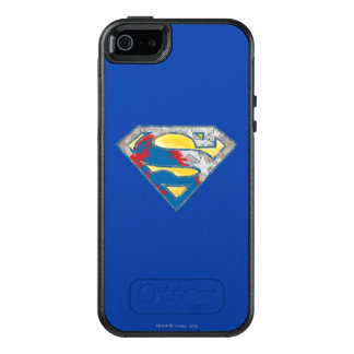 Superman S-Shield | Grey Yellow Red Black Mix Logo OtterBox iPhone 5/5s/SE Case