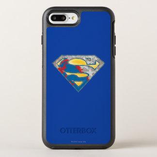 Superman S-Shield | Grey Yellow Red Black Mix Logo OtterBox Symmetry iPhone 7 Plus Case