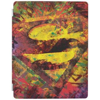 Superman S-Shield | Grunge Logo iPad Cover